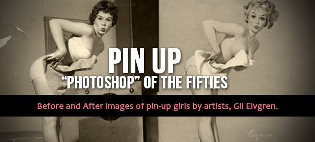 pin up photoshop gil elvgren