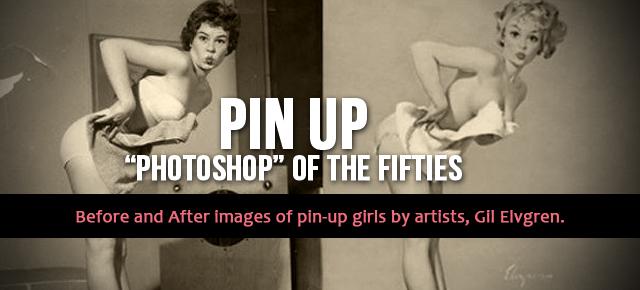 pin up photoshop gil elvgren