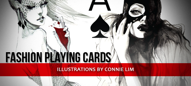 playing cards slider