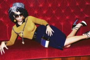 Kelis looks FABULOUS in Schon! Magazine – Apr 2014