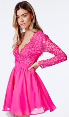 Dayana_Lace_Sleeve_Puff_Ball_Dress_-_Dresses_-_Skater_Dresses_-_Missguided
