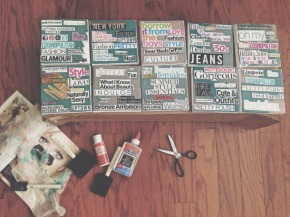 5 DIYs you will LOVE:  Date Cards + Instagram Box + Magazine Wall Art