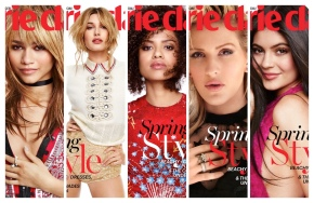 Marie Claire's FRESH FACES Issue w/ Kylie Jenner, Zendaya, and More